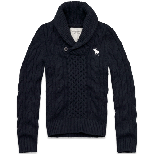 Mens Avalanche Mountain Cable Sweater