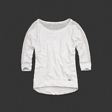 Womens Jody Sheer Sweatshirt