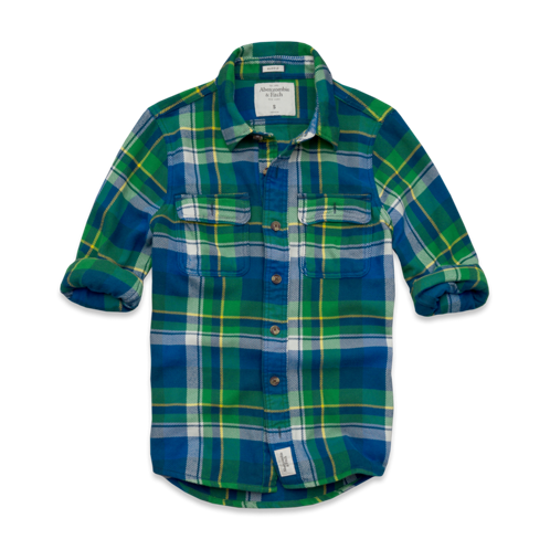 Mens Slide Brook Flannel Shirt