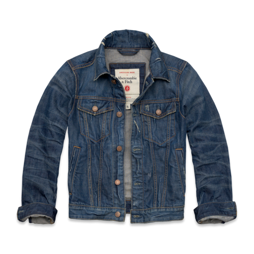 Mens American Made Premium Denim Jacket