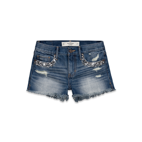 PUPPY LOVE A&F High Rise Shorts