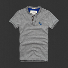 Mens Schroon River Henley