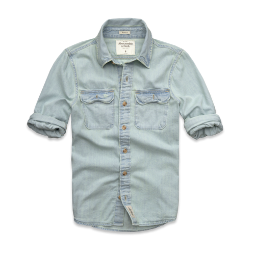 Mens Bradley Pond Denim Shirt