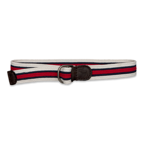 Featured Items Preppy Striped Belt