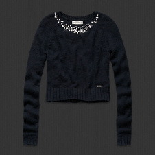 Womens Ashley Shine Sweater