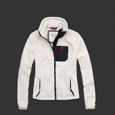 Womens The A&F Mountain Fleece Jacket