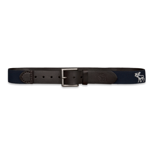 Mens Iconic Logo Belt