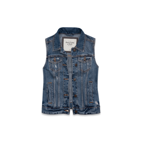 Womens Taylor Denim Vest