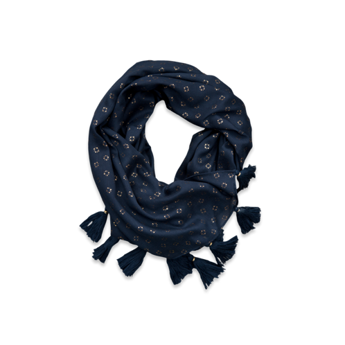 Womens Cute Shine Scarf