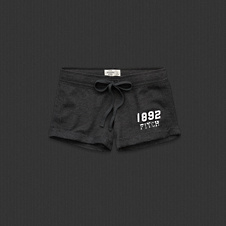 Womens A&F Athletic Shorts
