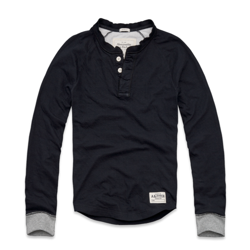 Mens Bald Peak Duofold Henley