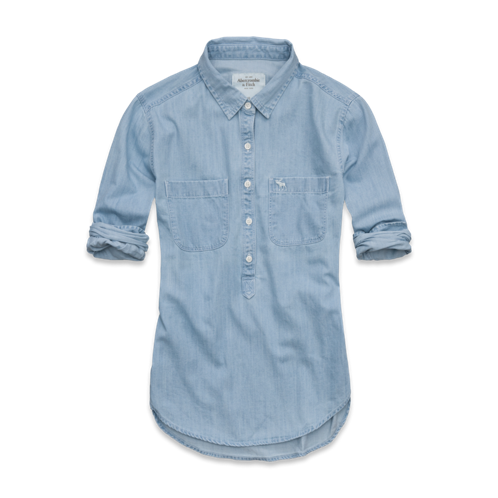 Womens Charlie Denim Shirt