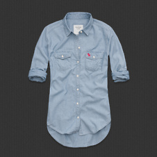 Womens Kiran Denim Shirt