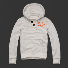 Mens Railroad Notch Hoodie
