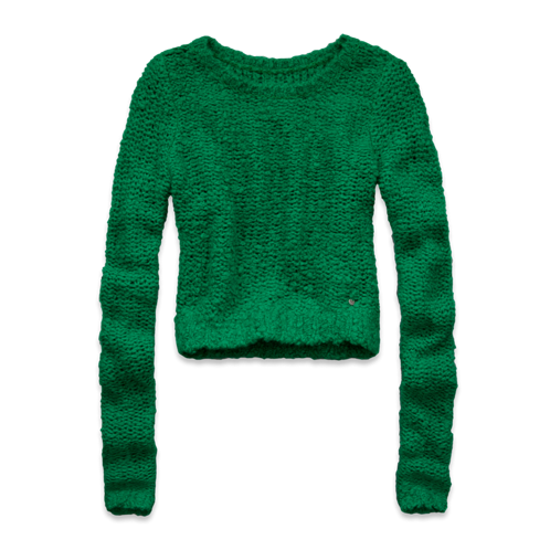 Womens Arielle Cropped Sweater