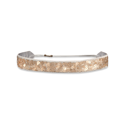 Womens Metallic Shine Headband