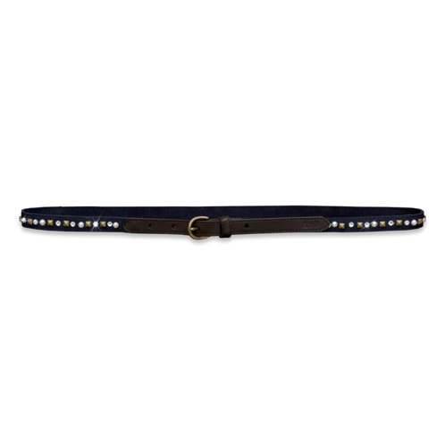Womens Skinny Shine Belt