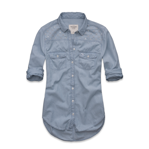 for Chambray shirt women