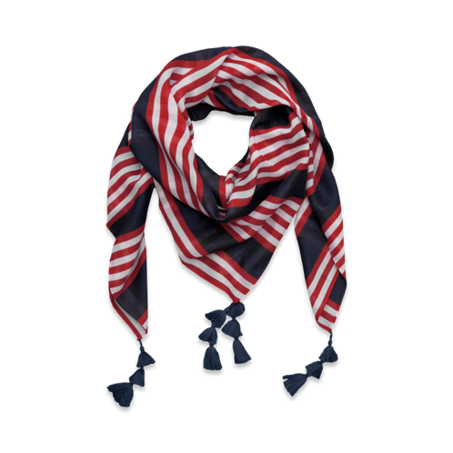 Womens Classic Patterned Scarf