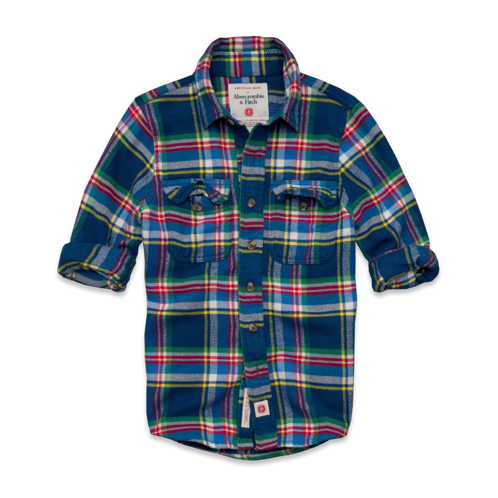 Mens American Made Flannel Shirt