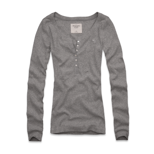 Featured Items Annabel Ribbed Henley