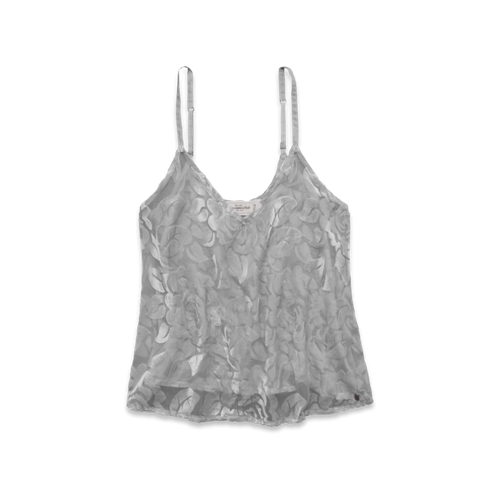 Womens Kira Velvet Burnout Cami