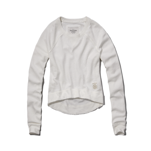 Womens Jordan Cropped Sweatshirt