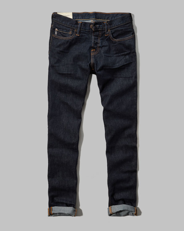 A&F Classic Taper Button Fly Jeans A&F Classic Taper Button Fly Jeans