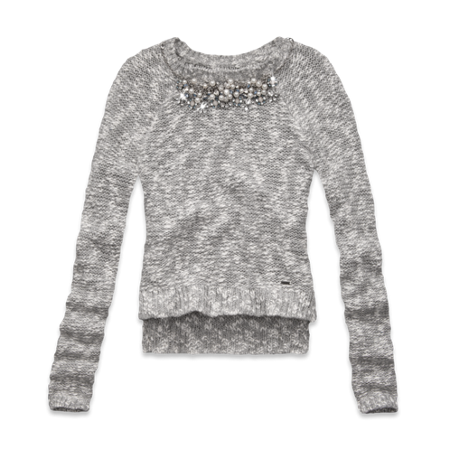 Womens Jorie Necklace Sweater