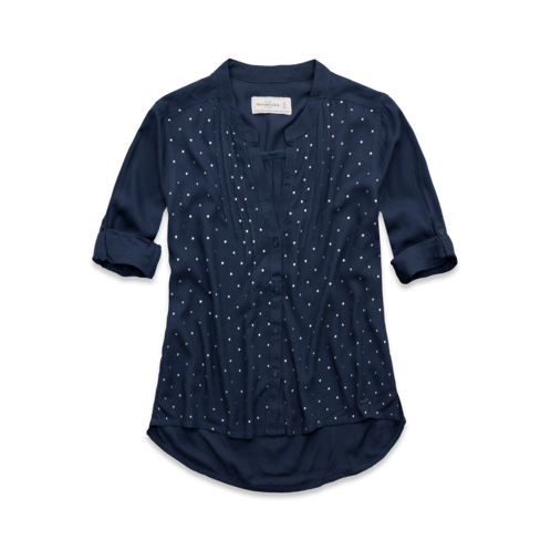 Womens Ella Shine Dot Shirt
