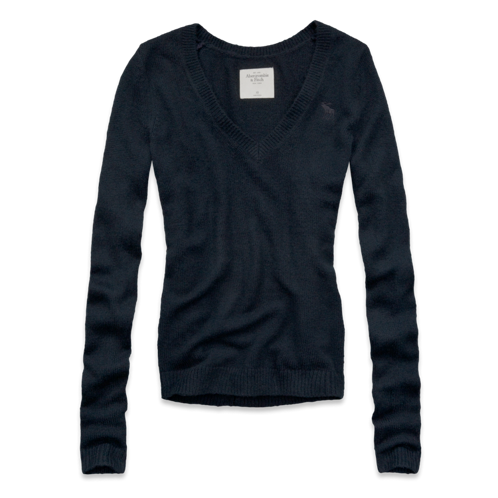 Womens Chelsea V-Neck Sweater