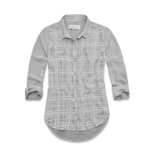 Featured Items Jenny Velvet Burnout Shirt