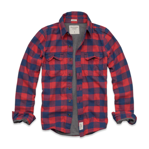 Mens Mountain Pond Flannel Shirt