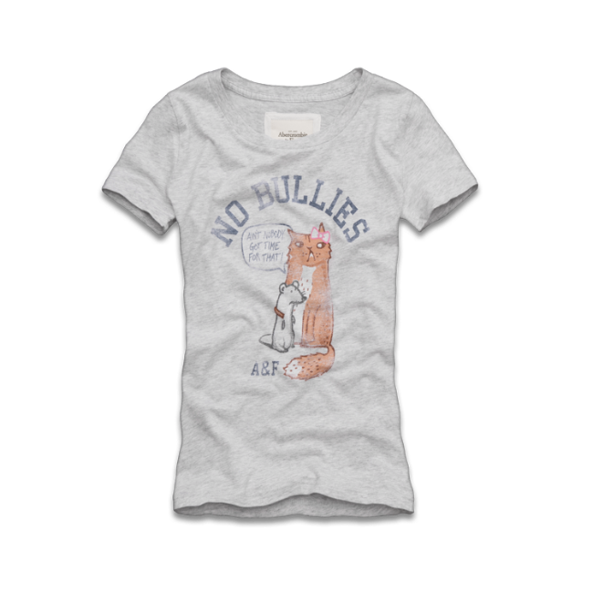 Womens A&F No Bully Tee