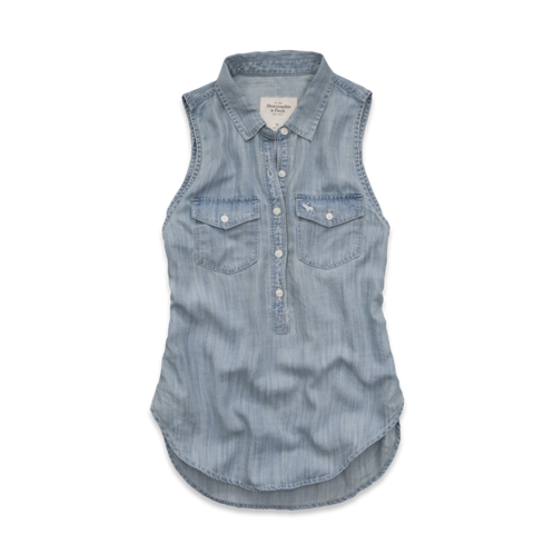 Womens Larissa Denim Shirt