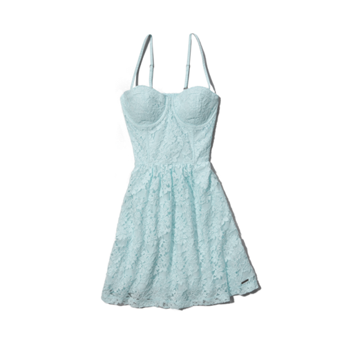 Womens Drew Lace Dress