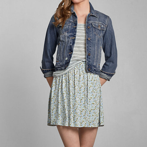 Sale alerts for Abercrombie Caroline Denim Jacket - Covvet