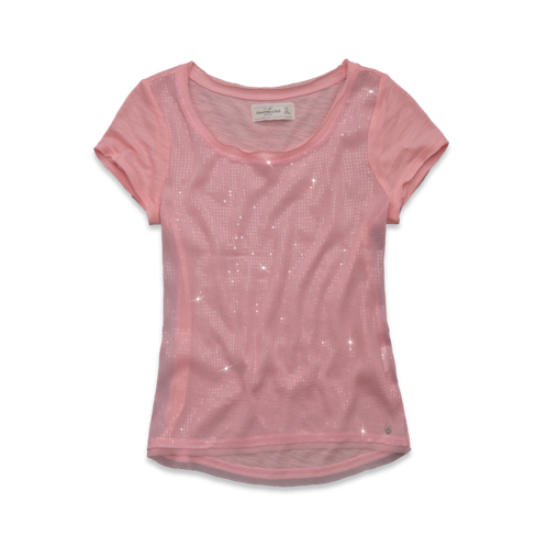 Womens Andrea Shine Top
