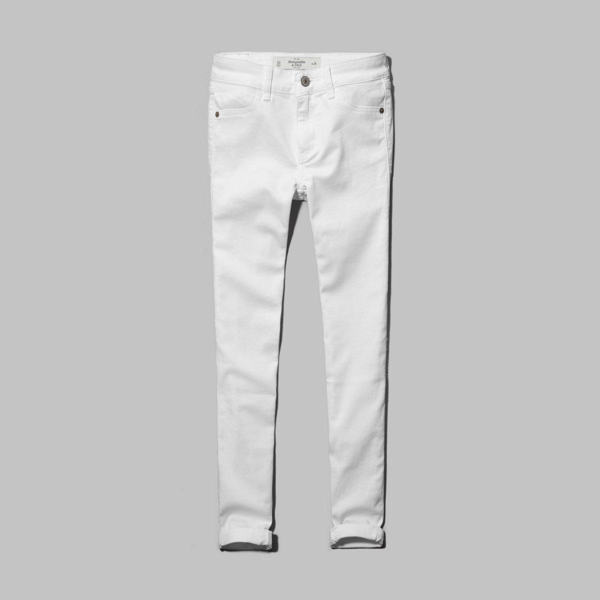 A&F Mid-Calf Crop Jeans