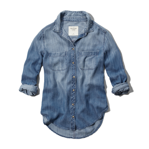 Womens Eddy Denim Shirt