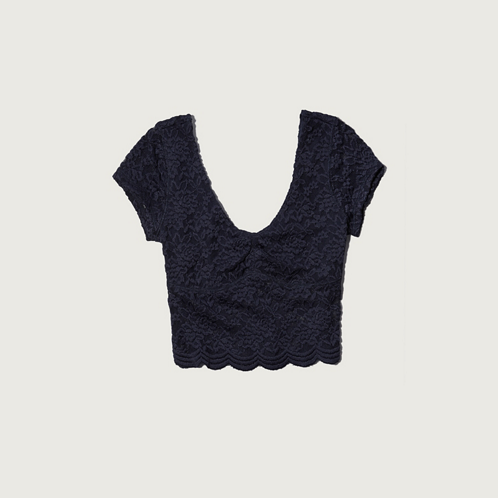 Womens Elaine Cropped Top