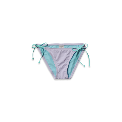 Womens Solid Swim Bottom