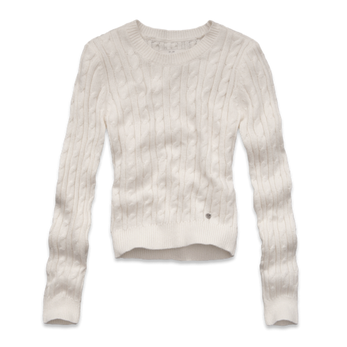 Womens Leanne Cropped Sweater