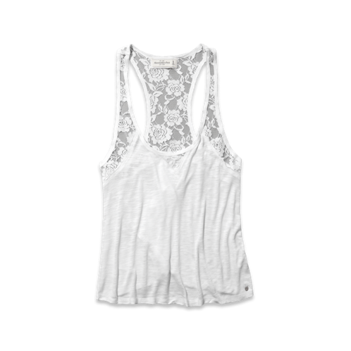 Womens Breana Lace Tank
