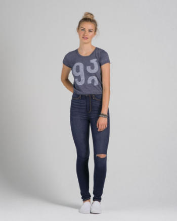 Womens A&F Sydney Natural Waist Jeggings