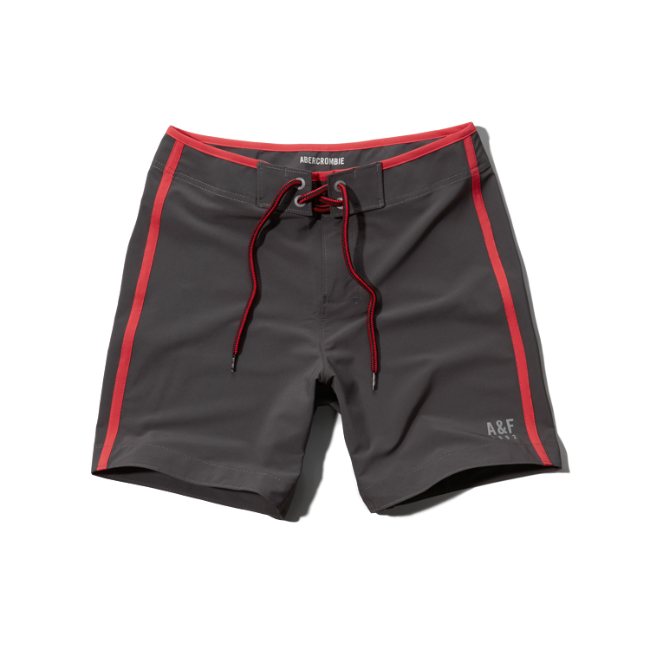 Mens A&F Prep Fit Swim Shorts