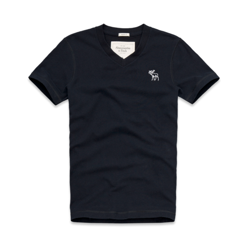 Mens Hunters Pass V-Neck Tee