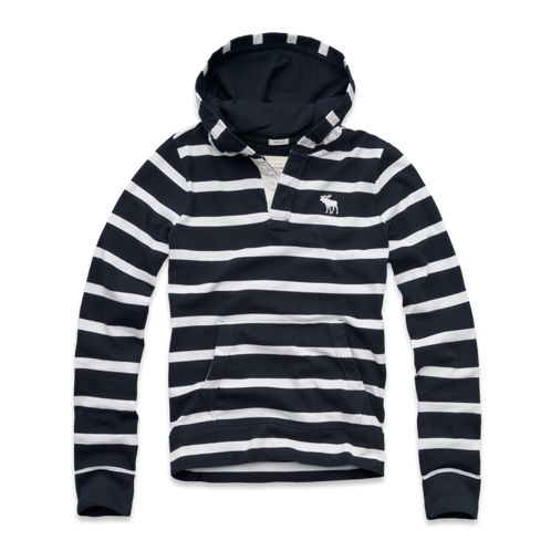 Mens Schroon River Hooded Tee