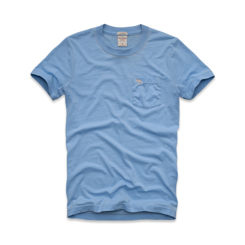 Mens Owen Pond Burnout Tee
