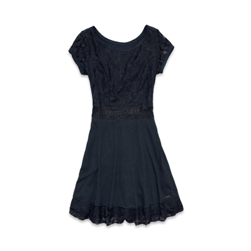 Womens Molly Knit Skater Dress